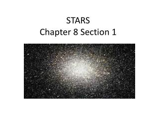 STARS Chapter 8 Section 1