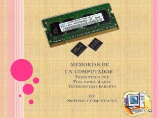 memorias de un computador