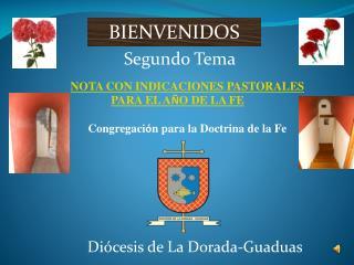 NOTA CON INDICACIONES PASTORALES PARA EL A Ñ O DE LA  FE Congregaci ó n para la Doctrina de la Fe