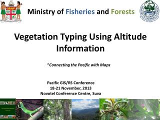 Ministry of  Fisheries  and  Forests