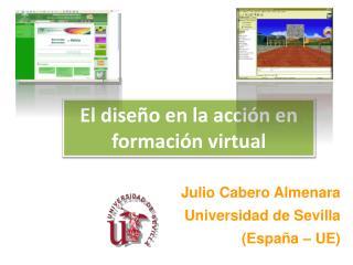El diseño en la acción en formación virtual