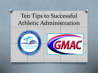 Ten Tips to Successful Athletic Administration