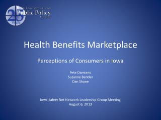 Health Benefits Marketplace