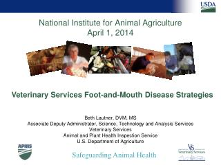 National Institute for Animal Agriculture April 1, 2014