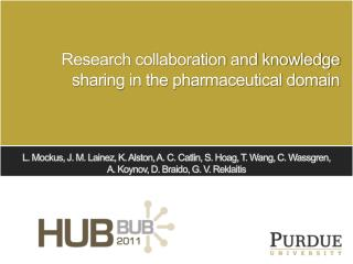 Research collaboration and knowledge sharing in the pharmaceutical domain