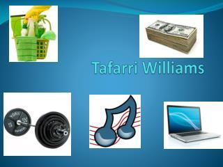 Tafarri  Williams