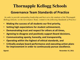 Making the success of all students our first priority,