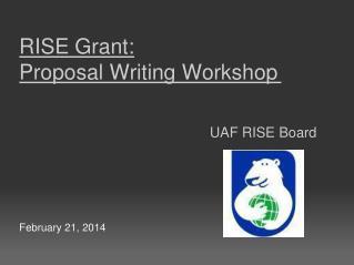 UAF RISE  Board