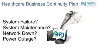 Healthcare Business Continuity Plan