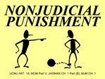 NONJUDICIAL PUNISHMENT