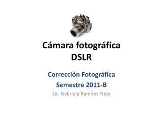 C�mara fotogr�fica  DSLR