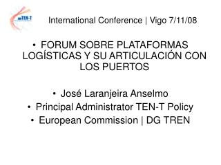 International Conference | Vigo 7/11/08