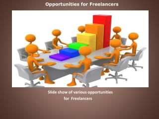 Opportunities for Freelancers