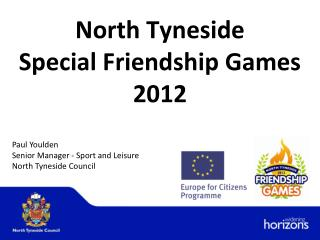 North Tyneside  Special Friendship Games 2012