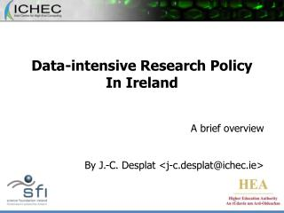 Data-intensive Research Policy In Ireland