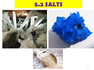 5.2 SALTS