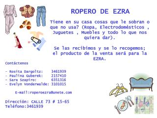 ROPERO DE EZRA