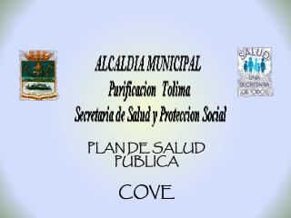PLAN DE SALUD PÚBLICA COVE