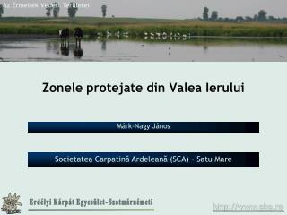 Zonele protejate din Valea Ierului