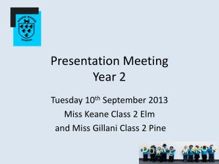 Presentation Meeting Year 2