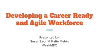 Emerging Career Development Trends
