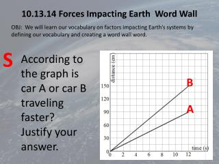 10.13.14 Forces Impacting Earth  Word Wall