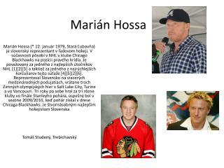 Marián  Hossa