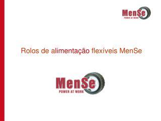 Rolos de a limentação  flexíveis MenSe