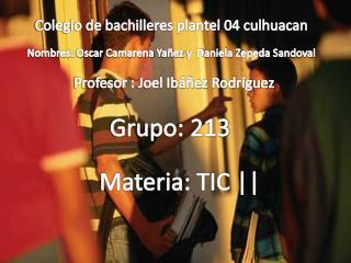 Colegio de bachilleres plantel 04 culhuacan