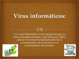 Virus informáticos: