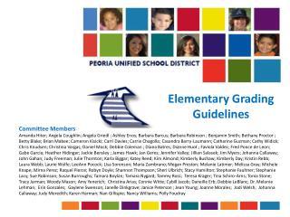 Elementary Grading Guidelines