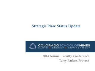 Strategic Plan: Status Update