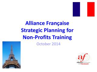 Alliance Française Strategic Planning for  Non-Profits Training