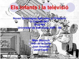 Els infants i la televisió