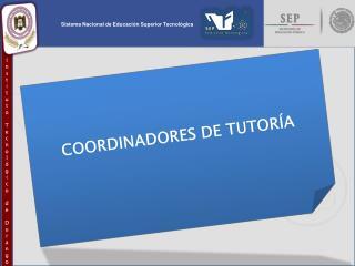 COORDINADORES DE TUTOR�A