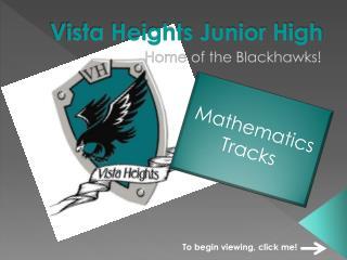 Vista Heights Junior High