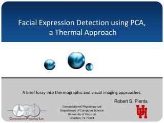 Facial Expression Detection using PCA,  a Thermal Approach
