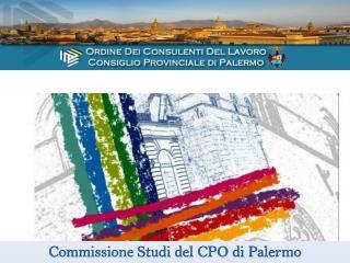 Commissione Studi del CPO di Palermo