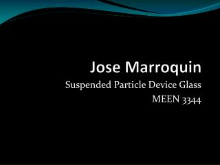 Jose Marroquin