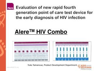 Alere TM  HIV Combo