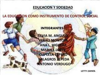 EDUCACION Y SOCIEDAD