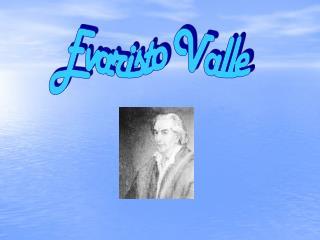 Evaristo Valle