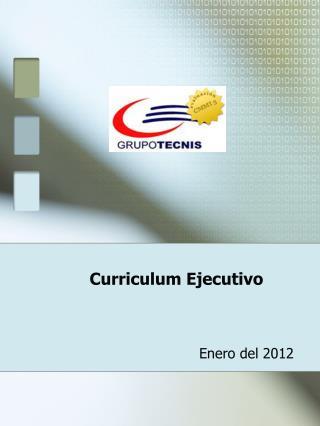 Curriculum Ejecutivo