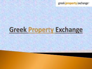 Properties for Sale in Greece