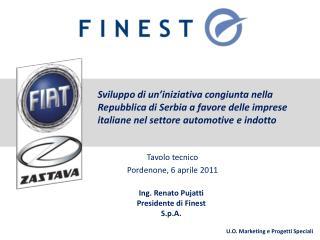 Tavolo tecnico Pordenone, 6 aprile 2011