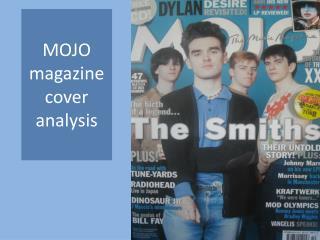 MOJO magazine cover analysis