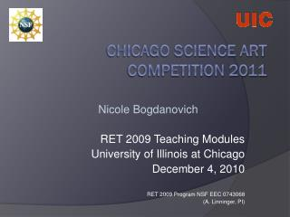 Chicago Science Art Competition  2011