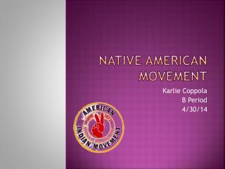 Native American Movement