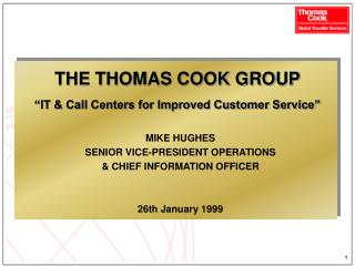 The Thomas Cook Group Ltd