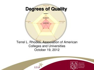 Degrees of Quality